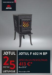 JØTUL F 602 N BP krosnelės akcija